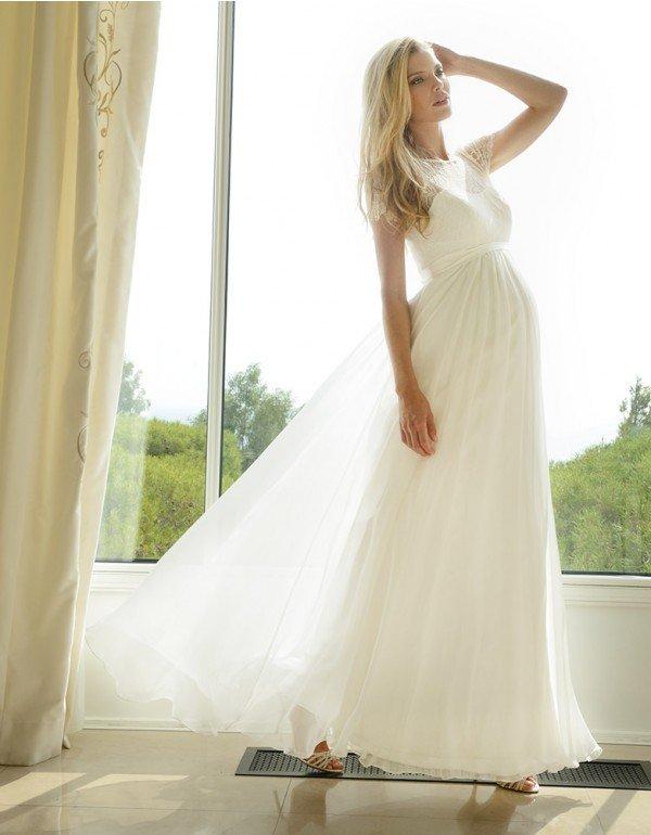 bb8082a06b Top10 - Esküvői ruhák kismamáknak - Mommy&More